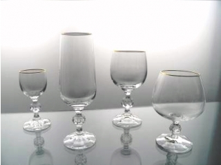 "Set of glasses ""Claudia"", 24 pcs."