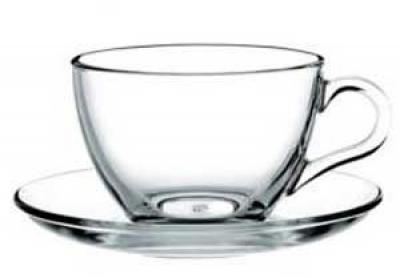"Tea set for 6 persons ""Basic"" 215 ml, 12 pcs. , Tea and coffee mugs,"