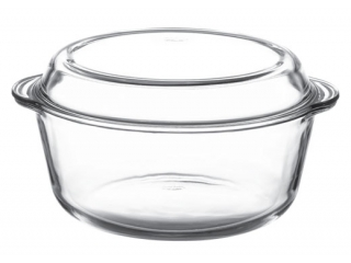 "Ovenware with cover ""Borcam"" 3000 ml, 1 pcs.1/4"