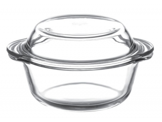 "Ovenware with cover ""Borcam"" 840 ml, 1 pcs."