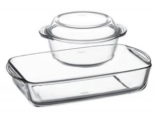 """Набор жаропрочной посуды """"Borcam"""", 3 шт. 1/4"""