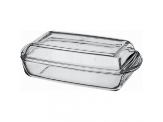 "Ovenware with cover ""Borcam"" 1500 ml, 1 pcs."