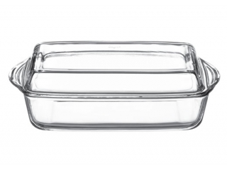 "Ovenware with cover ""Borcam"" 2800 ml, 1 pcs. 1/4"