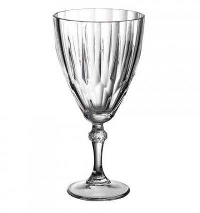 "Set of glasses ""Diamond"" 205 ml, 6 pcs. , Diamond,"