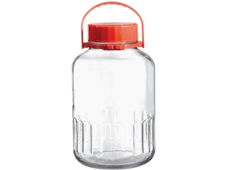 "Jar with plastic cover ""Kavanozlar"" 4000 ml, 1 pcs."