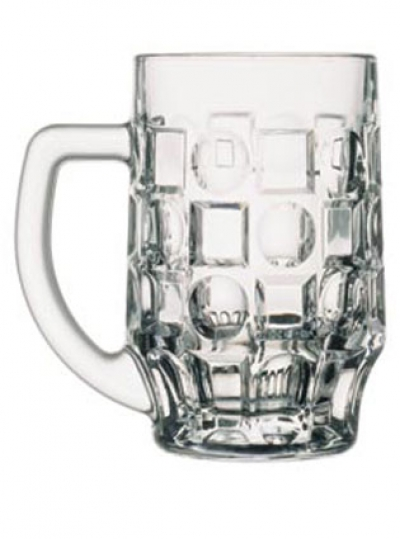 "Set beer mugs ""PUB"" 500 ml, 6 pcs. , Pub,"