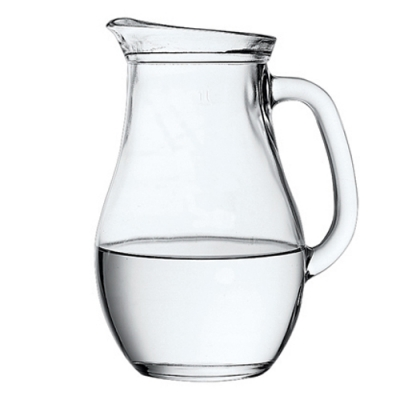 "Jug ""Bistro"" 1000 ml, 1 pcs. , Decanters, pitchers,"