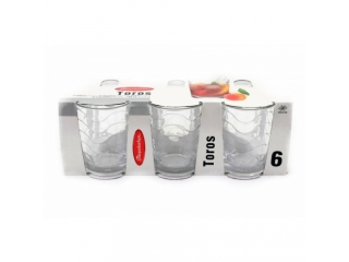 "Set of tumblers ""Toros"" 160 ml, 6 pcs."