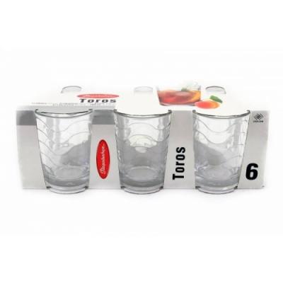 "Set of tumblers ""Toros"" 160 ml, 6 pcs., Toros,"