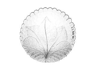 """Plate """"Sultana"""", 1 pcs."""