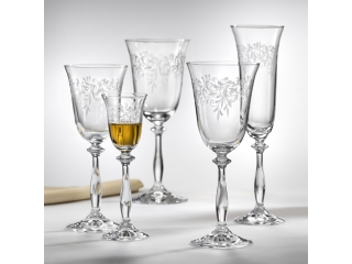 "Set pocale pentru vin rosu ""Angela"" 250 ml, 6 buc"