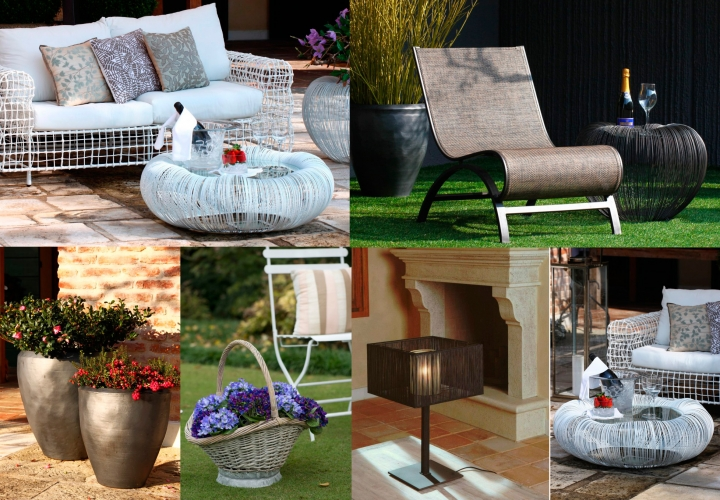 FURNITURE AND DECORATION FOR YOUR GARDEN AND TERRACE!!! EXCLUSIVE, DISTINGUISHED, ACCESSIBLE!!!