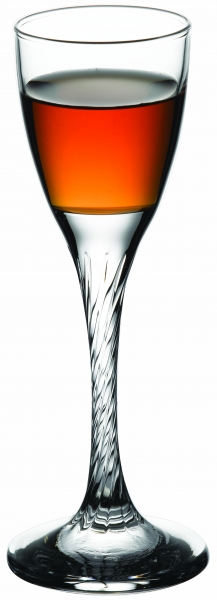 """Set of glasses """"Twist"""" 55 ml, 6 pcs., Twist,"""