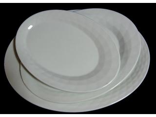 "Platou oval ""Kaleidos"" 26 cm, 1 buc."