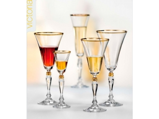 "Set of glasses ""Victoria"" 380 ml, 6 pcs."
