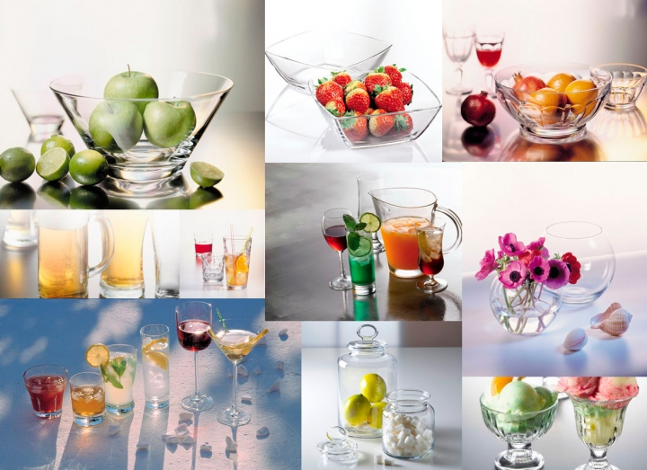 """""""Pasabahce"""" -Veselă din sticlă pentru baruri, restaurante şi hotele."""