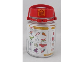 "Jar with cover ""Harvest"" 3000 ml, 1pcs."