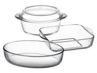 "Set vase termorezistente ""Borcam"", 4 pcs."