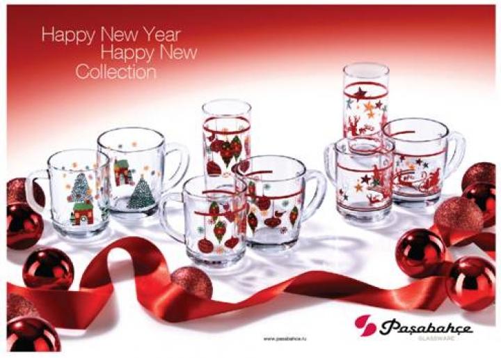 Colecţia de Crăciun de la  Pasabahce!