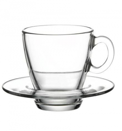 "Tea set for 6 persons ""Aqua"" 215 ml,12 pcs., Tea and coffee mugs,"