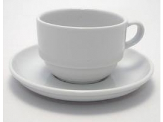 "Coffee cup with saucer ""ENT.Otel"" , 2 pcs."