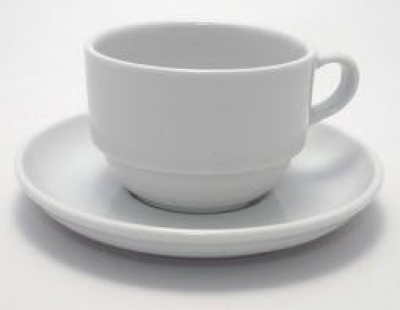"Coffee cup with saucer ""ENT.Otel"" , 2 pcs., ENT.Otel,"