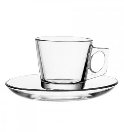 "Coffee set for 6 persons ""Vela"" 80 ml, 12 pcs., Tea and coffee mugs,"