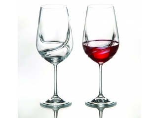 "Set wine glasses ""Turbulence"" 550 ml, 2 pcs."
