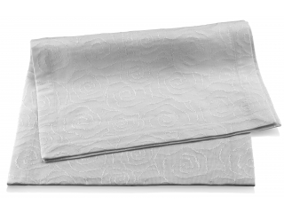 "Banda din stofa ""Roseto"" White 150x45 cm, 1 buc"