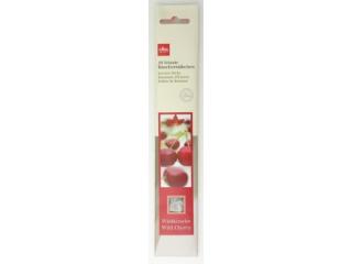 Set stickuri parfumate, Wild cherry H10 cm, 10 buc