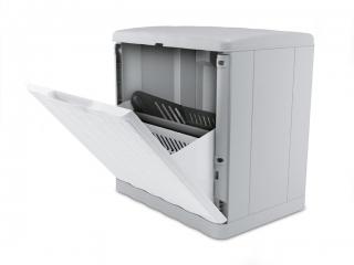 "Шкаф для обуви ""Elegance"" белый 40x30 см, h.40 см., 1 buc"
