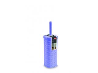 """Perie WC cu suport """"Elegance"""" violet 11x11cm, h.40cm, 1 buc."""