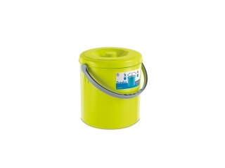 "Waste bucket ""Eureka"" green, 20 l, 1 pcs."
