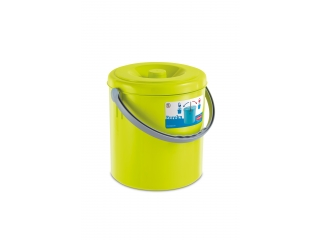 "Bucket with cover ""Eureka"" 25 l, 1 pcs."