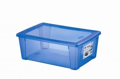 Cutie cu capac multifunctionala albastra L, 1 buc., Articole pentru casă,