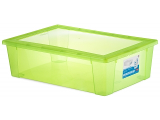 Multifunctional box with cover XXL, green, 1 pcs.