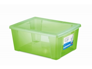 Multifunctional box with cover XL, green, 1 pcs.
