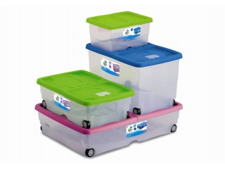 Storage box on wheels XXL, 1 pcs.