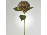"""Floare artificiala """"Ortensia"""", H67,  1buc"""