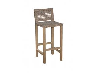 """Scaun pt. bar din lemn de Mango """"Lar"""",40x49x99,5, 1 buc."""