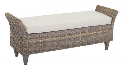 Scaun banca-tapetat din lemn 142*41*56h cm, 1 buc, Bank,