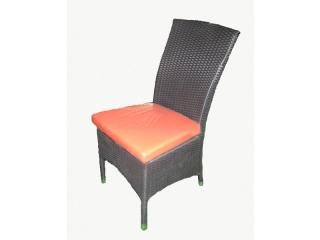 Scaun cu perna din lemn polimer, 1 buc