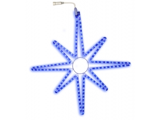 "Silueta LED ""Star"" Blue 75cm, 1buc"