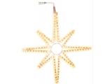 """Silueta LED """"Star"""" Warm White 75cm, 1buc"""