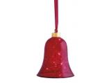 """Clopotel sticla """"Vesta"""" Red, 12.5cm, 1 buc."""