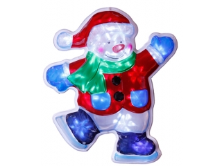 "Decor ""Snowman"" Holograma, 50cm Patine, 1 buc"
