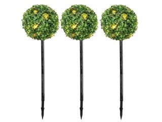 "Decor LED ""BuxbomBall ""  fibra optica 50cm, 1 buc"