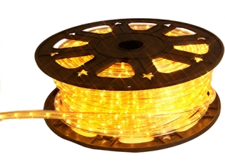 Decor tub luminos pe rola Yellow, 45m, 1 buc