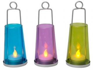 Set lanterne Led 17 cm, 3 buc.
