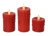 Set luminari Red cu picaturi, 3 buc.